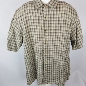 Royal Robbins cotton short sleeve button down
